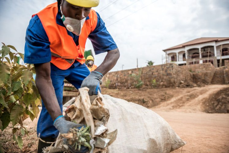 Agruni, a Rwandan company collecting waste, wants to transform garbage into energy.