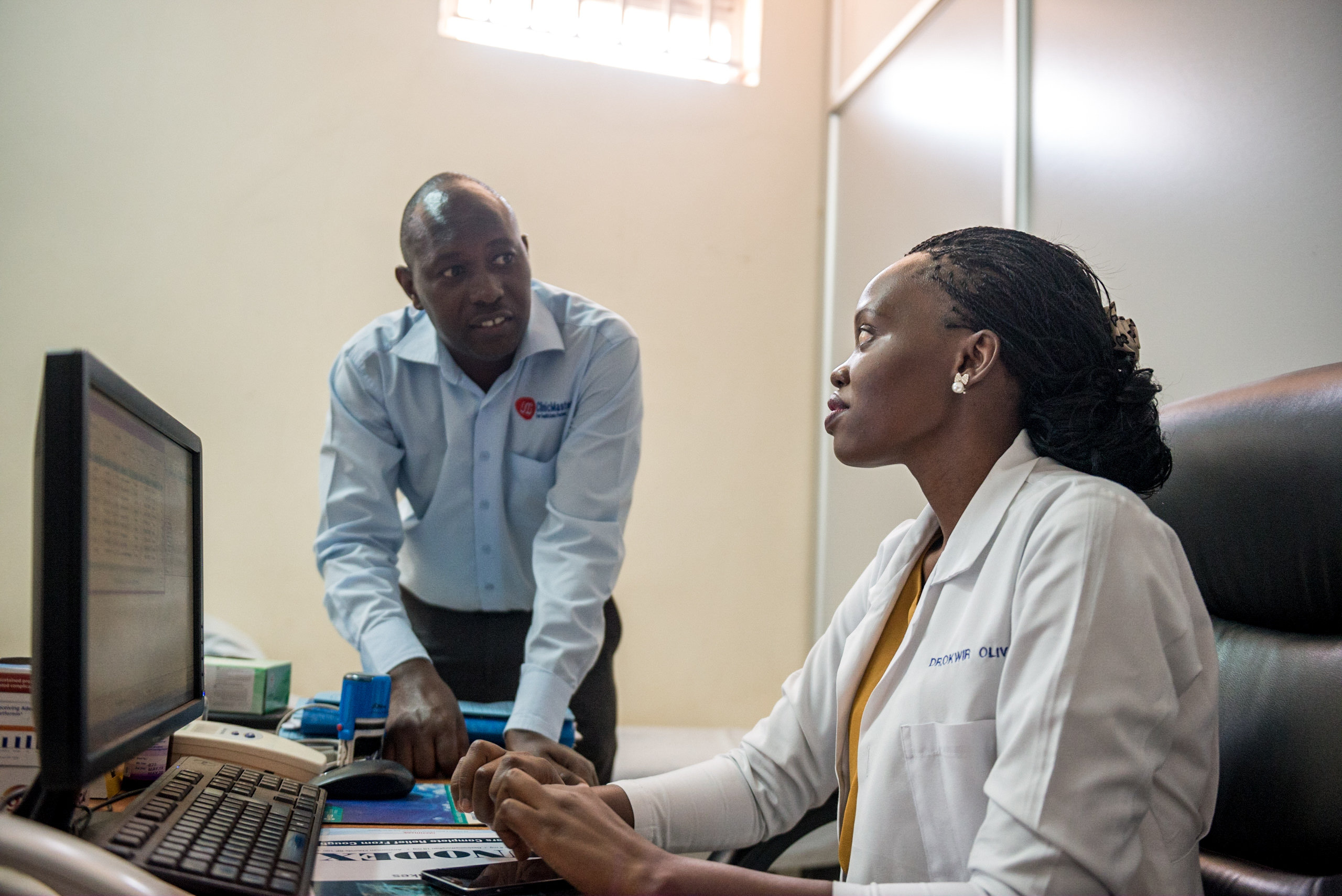 ClinicMaster in Uganda develops and sells an IT solution for hospitals.