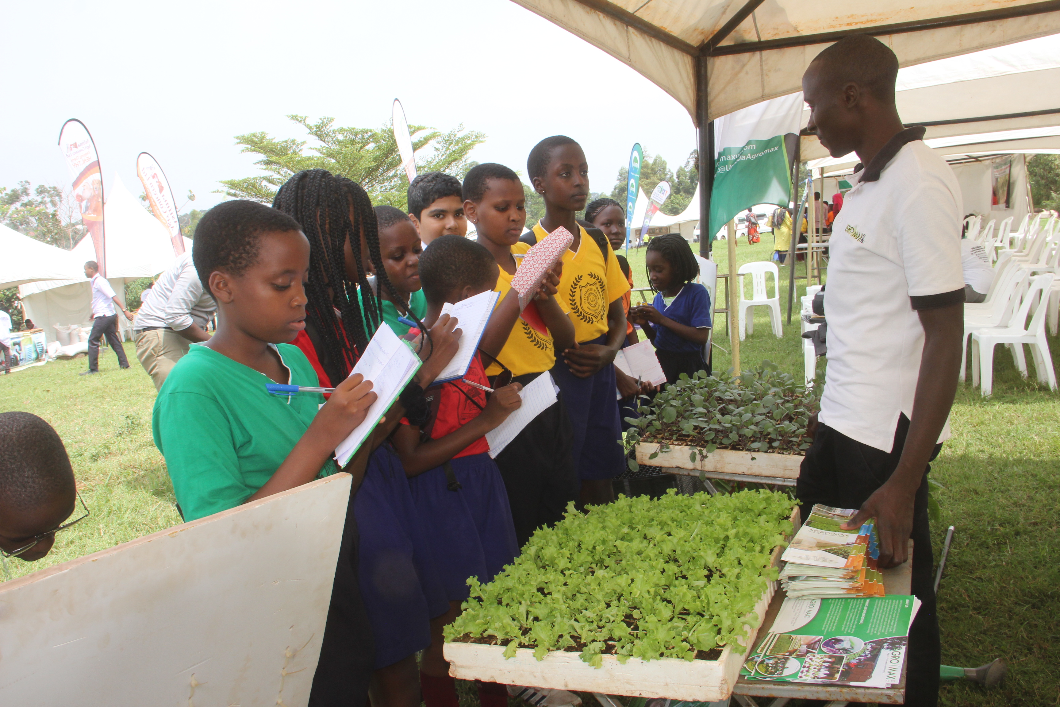 Gudie Leisure Farm, a city farm in Uganda, teaches small farmers to become agripreneurs.