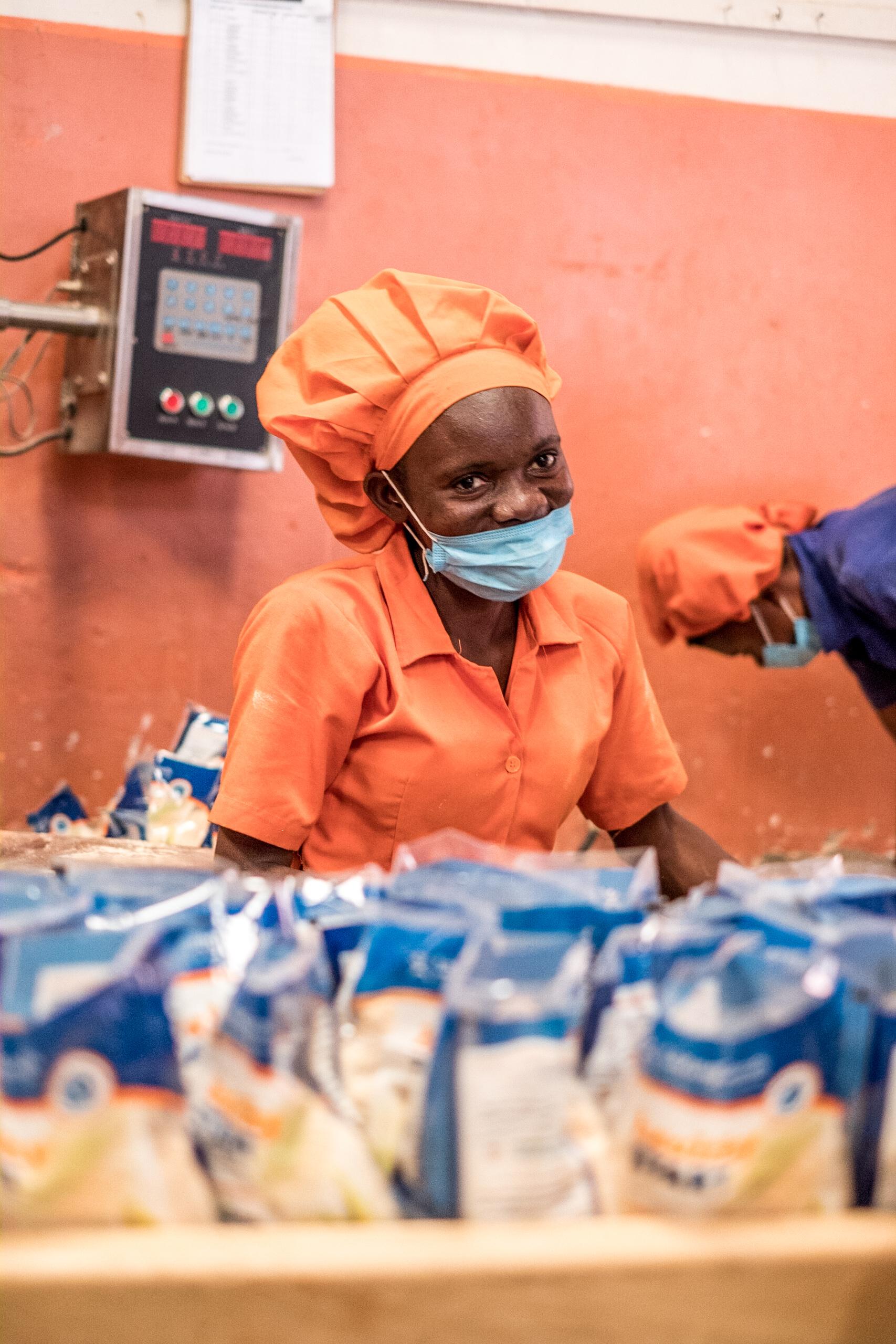 Sesaco gaat ondervoeding tegen in Oeganda dankzij goedkope voeding aan lage prijzen
